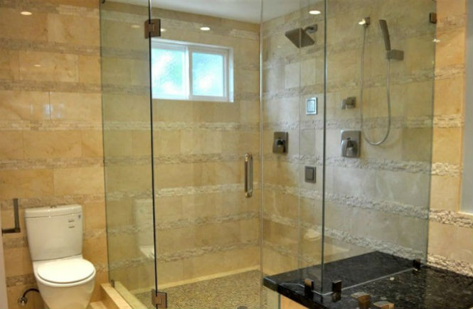 Glass Frameless Shower Screen